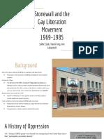 stonewall riots   gay liberation movement