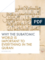 Why the Subatomic World is Important to Everything in the Quran
