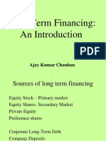 Lec 9 Long Term Financing I