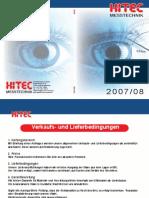 Hitec - Katalog 2007-2008 D, EN