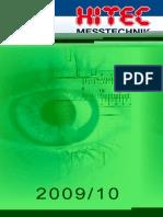 Hitec - Katalog 2009-2010 D, EN