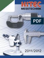 Hitec - Katalog 2011-2012 D, EN
