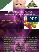 Medicion Gasto Energetico