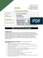 7C76 Math Pre Calculus 12 CLOC Online