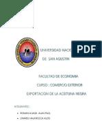 Exportacion Aceituna Completo
