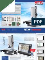 Hitec - Mikroskopy Pomiarowe QZW1 - 2016 EN
