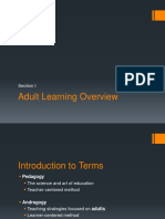 Comparison of Pedagogy From Andradogy