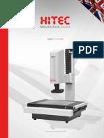 Hitec - Katalog Mikroskopy QZW CNC 2018 EN