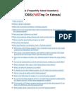 Fastosis FAQ E