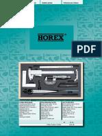Horex - Katalog 2015 D, EN
