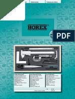 Horex - Katalog 2017 D, EN
