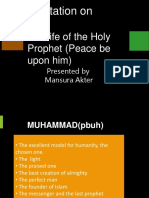 presentation on prophet muhammad (pubh)