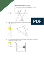 Practica de Geometria Plana y en El Espacio