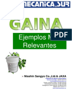 Aplicaciones de GAINA Nisshin.