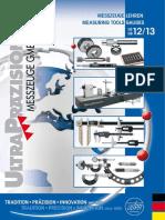 Ultra Praezision - Katalog 2012-2013 D, EN
