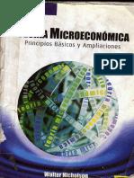 Teoria Microeconomica 8 Edicion Walter Nicholson