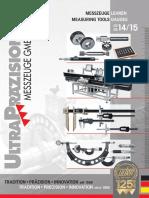 Ultra Praezision - Katalog 2014-2015 D, EN