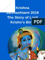 Krishna Janmashtami 2018 - The Story of Lord Krishna's Birth