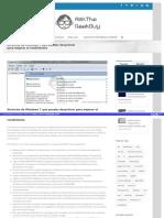 Servicios de Windows 7 Que Puedes Desactivar Para Mejorar El Rendimiento