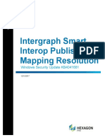 Intergraph Smart Interop Publisher Mapping Resolution