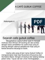 Waralaba Café Gubuk Coffee