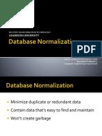Lesson03 Database Normalization