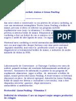 Boala de Inima & Linus Pauling(l)
