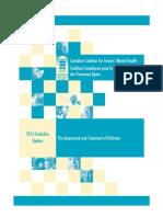 2014 Ccsmh Guideline Update Delirium