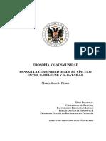 García Pérez, María-Erosofía y caosmunidad