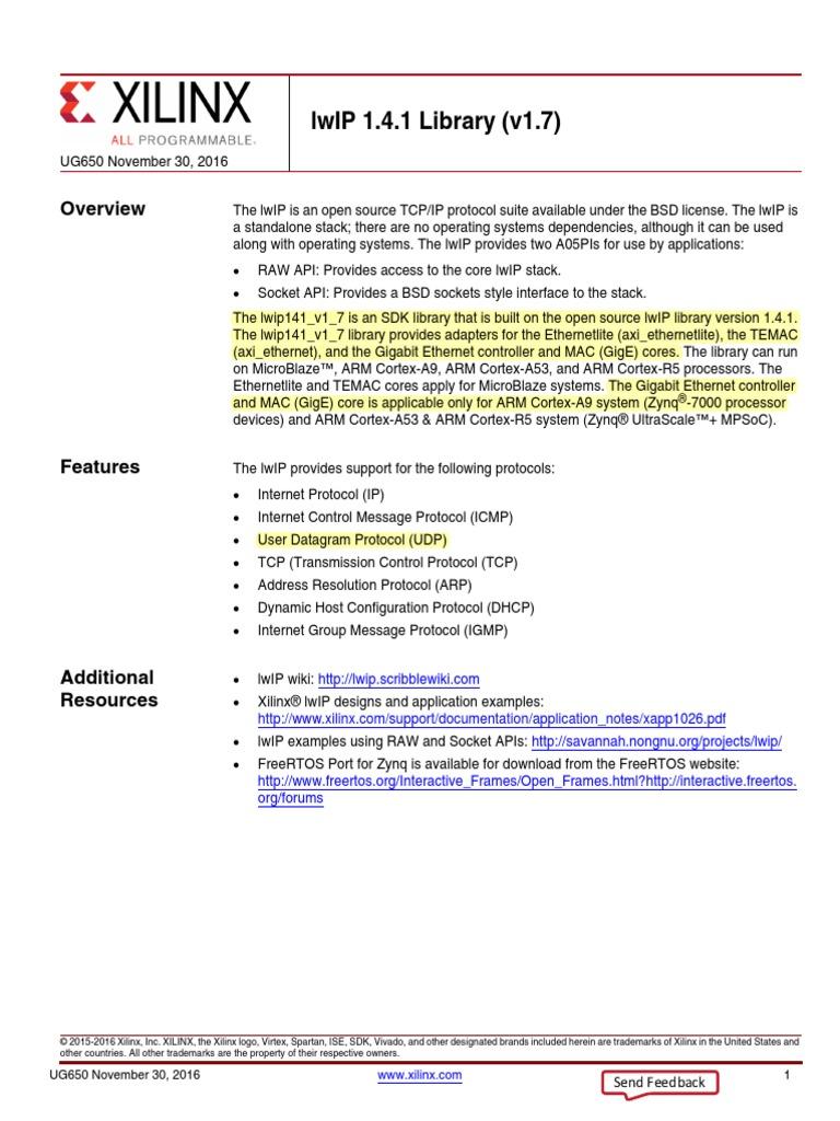 lwip141_v1_7 | Transmission Control Protocol | Network Socket