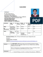 Dr. Ravish 2017 Resume-NIMHANS