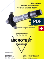 Microtest - Katalog 2010 EN