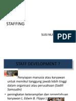 Konsep Staffing