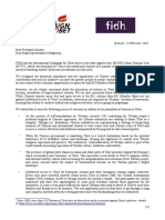 ICT and FIDH Joint Letter Regarding the 2018 EU-China Year of Tourism