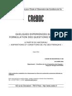 Rapport Credoc c206