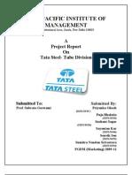 QMM Report Tata Steel