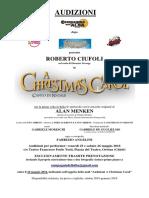 A Christmas Carol - Bando Audizioni