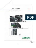 HIWIN - Ethercat Drive User Guide