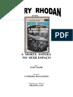 P-069 - A Morte Espera No Semi-Espaço - Kurt Mahr