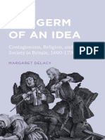 The Germ of an Idea Contagionism, Religion, and S ociety in Britain, 1660-1730