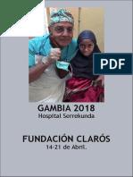 Viaje Humanitario Gambia 2018 ESP