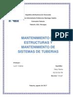 2do Ensayo de Mantenimiento en Estructuras Jmariela Meza