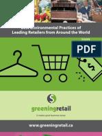 Greening Retail 2009