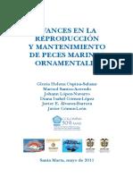 AVANCES EN LA REPRODUCCIÓN Y MANTENIMIENTO DE PECES MARINOS ORNAMENTALES - 2011.pdf
