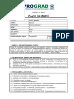 2017- Pl. Ensino - Hist. Brasil II