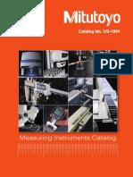 Mitutoyo - Katalog USA-1004