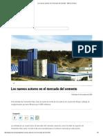 Los Nuevos Actores en El Mercado Del Cemento - Minería Chilena