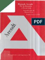 Arendt, Hannah - De la historia a la acción.pdf