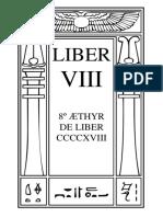 Liber VIII – 8º Æthyr de Liber CCCCXVIII