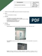 Procedimiento - Desmontaje de Puerta Pasadizo Pepino
